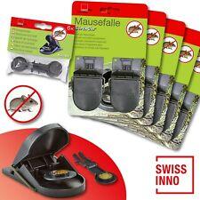 5 x 2 Stück Swissinno SuperCat Mausefalle + 1 x 6 Stück Ersatzköder