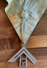 Past Masters collar and jewel fully hallmarked silver 1906 G. Kenning & Son