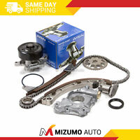 Timing Chain Kit Water Oil Pump Fit 00-08 Toyota Celica Chevrolet 1.8 1ZZFE
