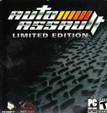 Auto Assault Soundtrack CD industrial electronic car racing video game music!