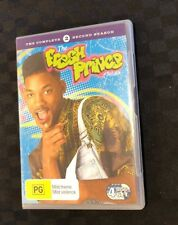 Fresh Prince Of Bel Air : Season 2 (DVD, 2006, 4-Disc Set) VGC Region 4