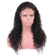Brazilian Women Wave Lace Front Human Hair Wigs Plucked Natural Hairline IN9