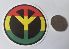 La Jamaïque Paix Signe-Voiture Ordinateur Portable Van Skateboard PVC Vinyle Autocollant Badge étanche