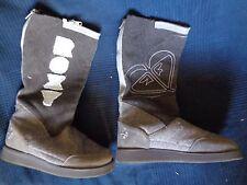 paire de botte boots chaussure roxy femme vintage occasion peu servit