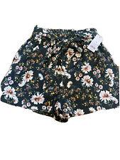 Wild Fable Floral Print Shorts Medium NWT High Waisted