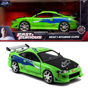1995 Mitsubishi Eclipse Fast and the Furious Brian Grün 1:24 Jada Toys 97603