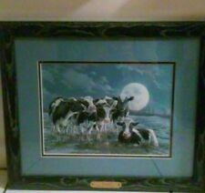 "Framed Bonnie Marris ""Moonshine"" Signed & Numbered Print"