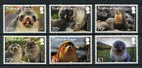 Tristan da Cunha 2017 MNH Subantarctic Fur Seal 6v Set Seals Wild Animals Stamps