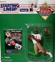 1995 Deion Sanders NFL Starting Lineup - BRAND NEW, NEVER OPENED!!