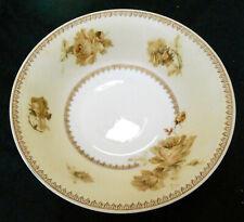 """Antique 9 1/4"""" Hermann Ohme Old Ivory 200 Porcelain Serving Bowl 1882-1928"""