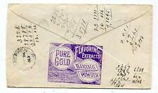 Canada NB New Brunswick - St John 1889 Baking Powder - ADVERTISING HANDSTAMP