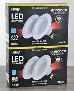 2X   Feit Electric LED 2 Pack Retrofit Kit