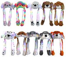 Funny Wackelohren Hat LED Carnival Ears Hat Cat Tiger Dog