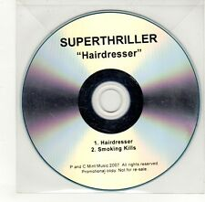 (GO314) Superthriller, Hairdresser - 2007 DJ CD