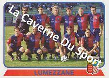 N°643 TEAM SQUADRA # ITALIA AC.LUMEZZANE CALCIO STICKER PANINI CALCIATORI 2004