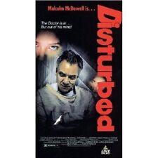 DISTURBED (1990) MALCOLM MCDOWELL,PRISCILLA POINTER VHS  NTSC