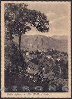 COMO PELLIO INTELVI 09 PELLIO INFERIORE Cartolina viaggiata 1950