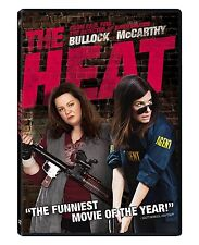 The Heat (2013) DVD R1 Sandra Bullock,  Melissa McCarth