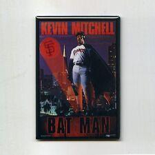 KEVIN MITCHELL / BAT MAN - COSTACOS POSTER FRIDGE MAGNET (vintage nike giants)