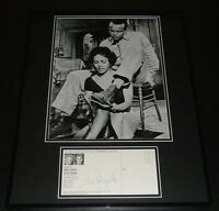 Harry Belafonte Signed Framed 16x20 Photo Display JSA
