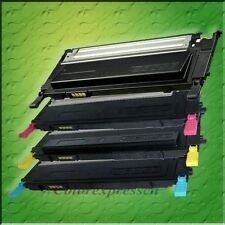 4 LASER TONER FOR SAMSUNG CLP-320 CLP-325 325W 1 SET OF (CKMY)