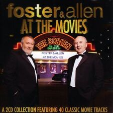 FOSTER & ALLEN  AT THE MOVIES-40 CLASSIC TRACKS NEW 2CD
