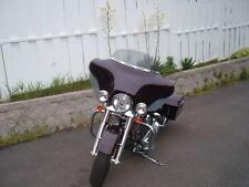 "USA MADE 1986 - 1995 Harley Davidson Windshield 6"" Smoked Windshied Touring  FLH"
