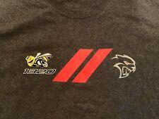 Dodge Hellcat 1320 Gray T-Shirt XL Barrett Jackson Las Vegas 2019