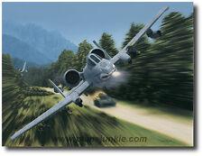 "Thunderstruck by Dru Blair - A-10 Thunderbolt II/""Warthog"" - Aviation Art Prints"