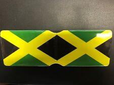 Jamaica Print Bus Pass Travel Card plastic Wallet Reggae One Love Roots V2