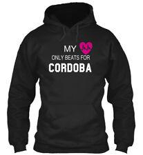My Heart Beats For Cordoba Tee Gildan Hoodie Sweatshirt