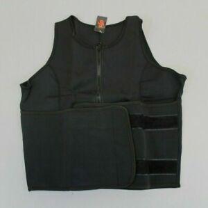 Perfect Sculpt Women's Sleeveless Weight Loss Sauna Sweat Vest Black MM1 Size XS