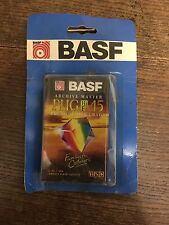 Vintage Basf Vhsc Tapes Packaged Collectors. Video Camcorder Cassettes