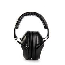 Kids Ear Muff EM-5005 Defenders Noise Reduction Comfort Earmuff Protection Black