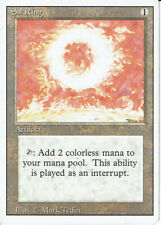 MAGIC THE GATHERING REVISED ARTIFACT RARE SOL RING grade 8/10
