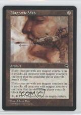 1997 Magic: The Gathering - Tempest Booster Pack Base #NoN Magnetic Web Card 0a0