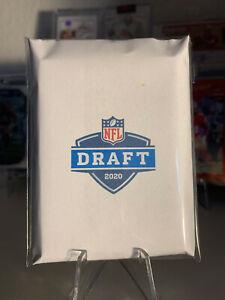 2020 NFL Draft Repack ONLY ROOKIES 10 Football Cards Burrow/Herbert/Tagovailoa
