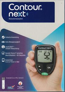 Neuf : Contour Next Testeur de Glycémie Mmol / L/L Plus Bandelettes Test - + Ovp