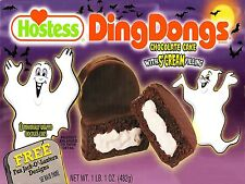 Hostess Ding Dong Halloween Box High Quality Metal Fridge Magnet 3x4 9723