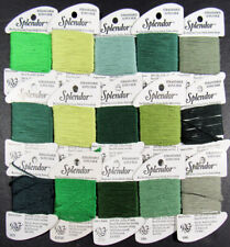 15x Needlepoint/Embroidery THREAD RAINBOW GALLERY Splendor 12ply silk-YX39