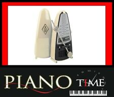 BRAND NEW Wittner Taktel Silver Piccolo Metronome W832 - Ivory
