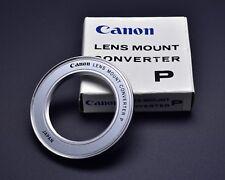 EX Canon Lens Mount Converter P M42 lens to Canon FL/FD Infinity Focus (#2029)