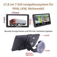 """7"""" GPS Navigationsgerät  NAVI DRIVE-7BT Für LKW,PKW, BUS,WOHNMOBIL BT und AV-IN"""