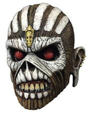 Book Of Souls Iron Maiden Latex Mask Costume Overhead Eddie Eddy Metal Scary