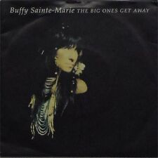 """BUFFY SAINTE-MARIE 'THE BIG ONES GET AWAY' UK PICTURE SLEEVE 7"""" SINGLE"""