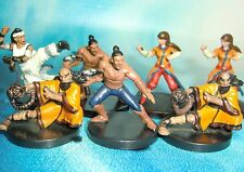 Dungeons & Dragons Miniatures Lot  Whirling Steel Monk Human Monk !!  s116