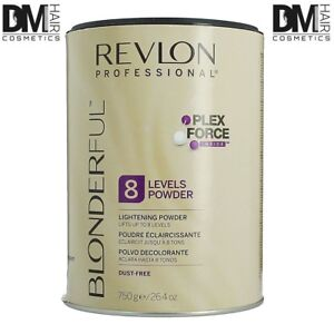 REVLON BLONDERFUL 8 LEVELS POWDER DECOLORANTE PROFUMATO NEW PLEX FORCE 750gr
