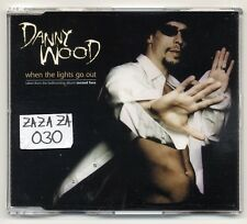 Danny Wood Maxi-CD When The Lights Go Out - EU 4-tr. NKOTB new kids on the block