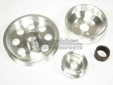 DFJ Stock Size Lightweight Pulley Kit for 09-11 Hyundai Genesis Coupe 2.0T 2.0L