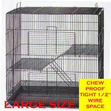 "30"" Large Animal Sugar Glider Chinchilla Ferret Rat Mice Hamster Rabbit Cage 444"